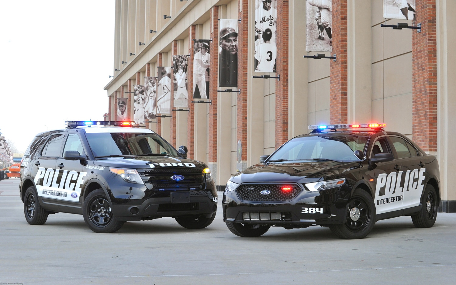 Ford Police Interceptor Sedan And Utility1