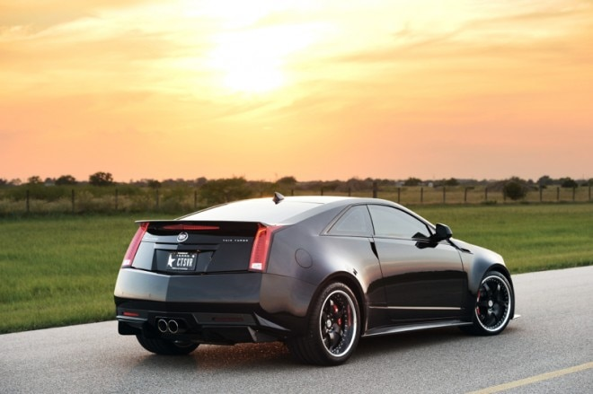 Hennessey Cadillac CTS VR1200 Right Rear1 660x439