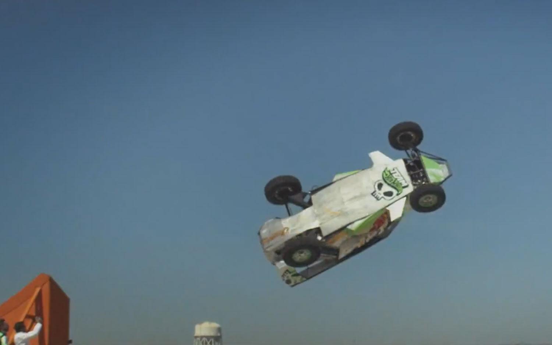 Hot Wheels Car In The Air1