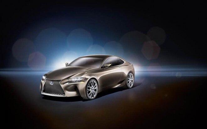 Lexus LF CC Concept Front Three Quarter 660x412