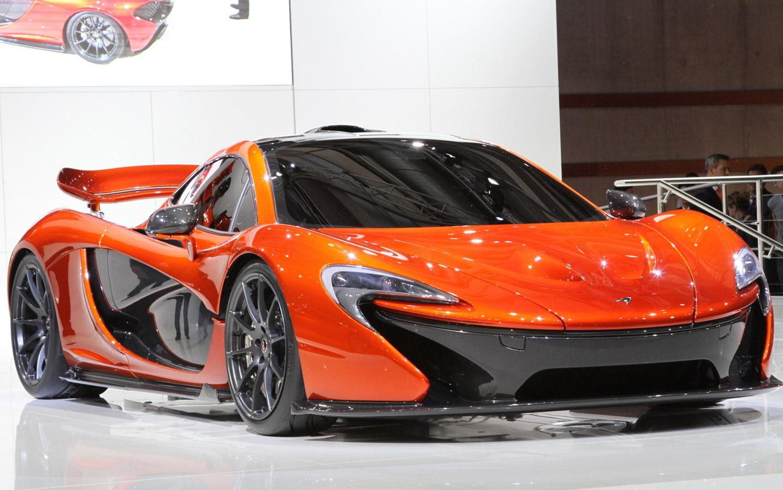 McLaren P1 Concept Front Three Quarter