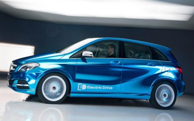 Mercedes Benz B Class Electric Drive Concept1 660x413