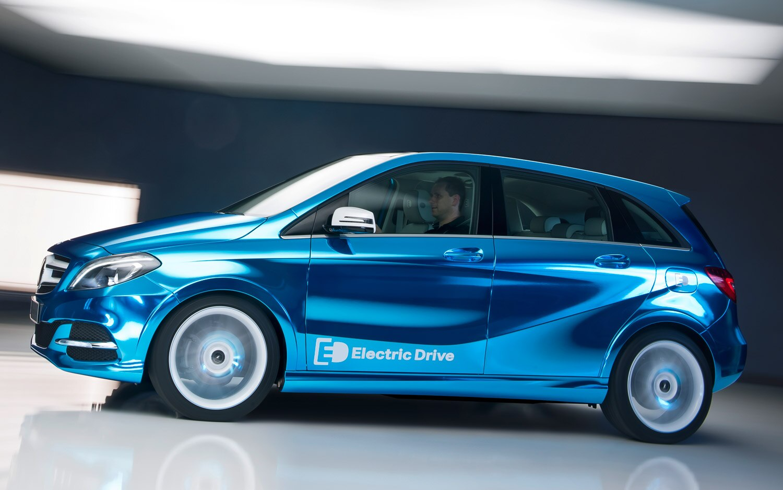 Mercedes Benz B Class Electric Drive Concept1