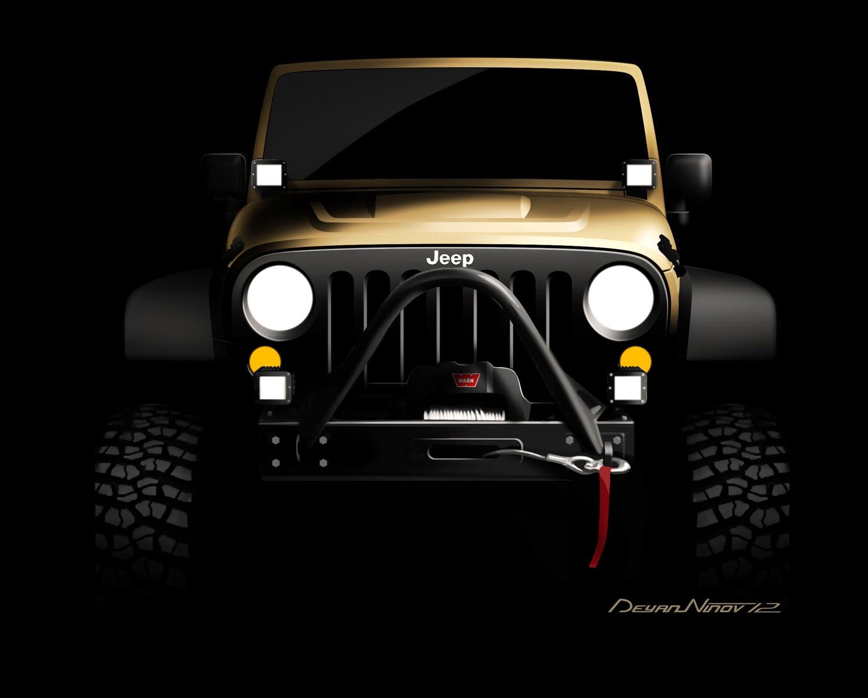 Mopar Jeep Wrangler SEMA Teaser11
