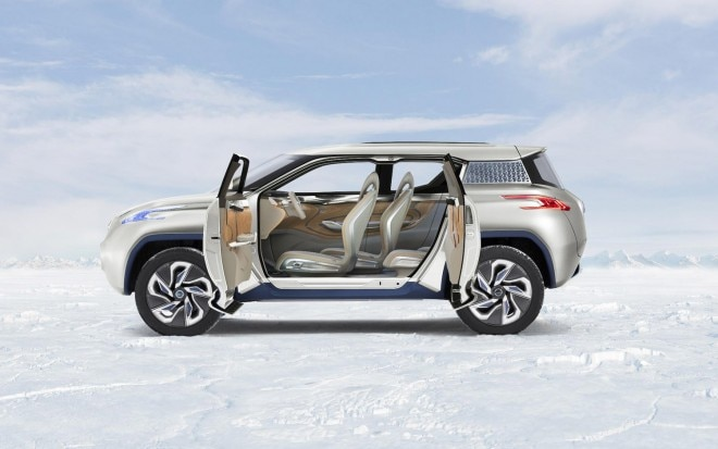 Nissan TeRRA Concept Left Side Doors Open11 660x413