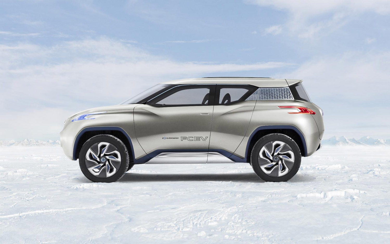 Nissan previews terra fuel cell concept before paris motor show ben timmins vanachro Gallery