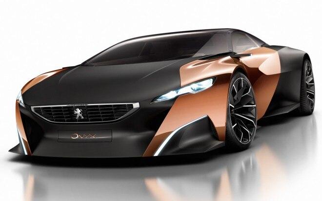 Peugeot Onyx Concept Front View11 660x413