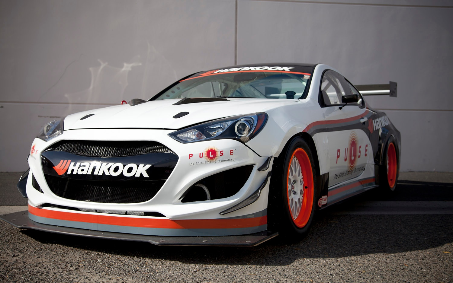 RMR Hyundai Genesis Coupe Pikes Peak Front Three Quarter1