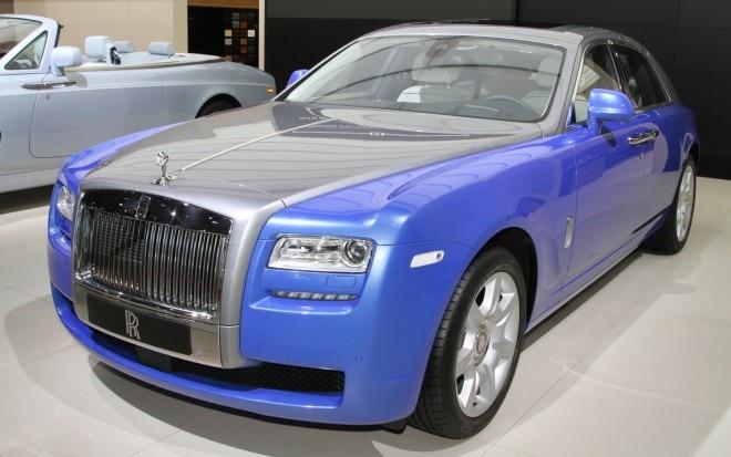 Rolls Royce Ghost Art Deco Front Three Quarter 21 660x413