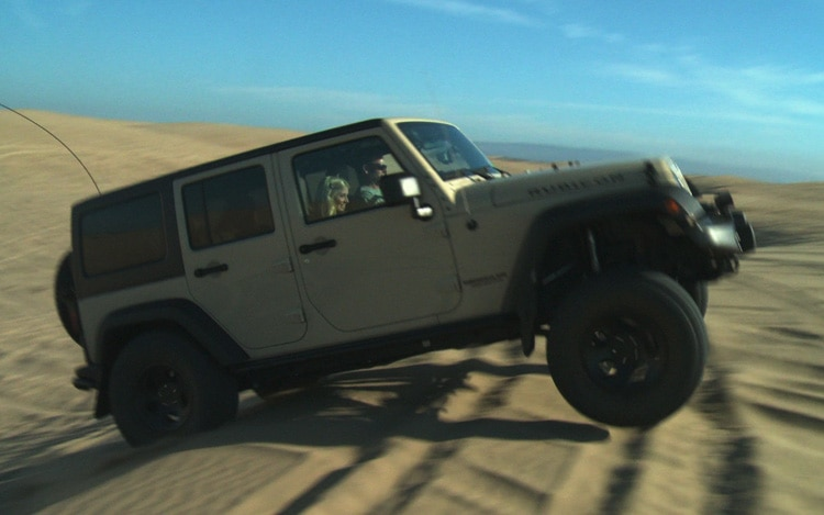 Sand Crawling In A Jeep Wrangler Rubicon WOT Episode 33 Image 21