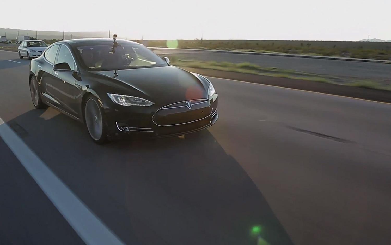 Tesla Model S Front Three Quarter On I 151