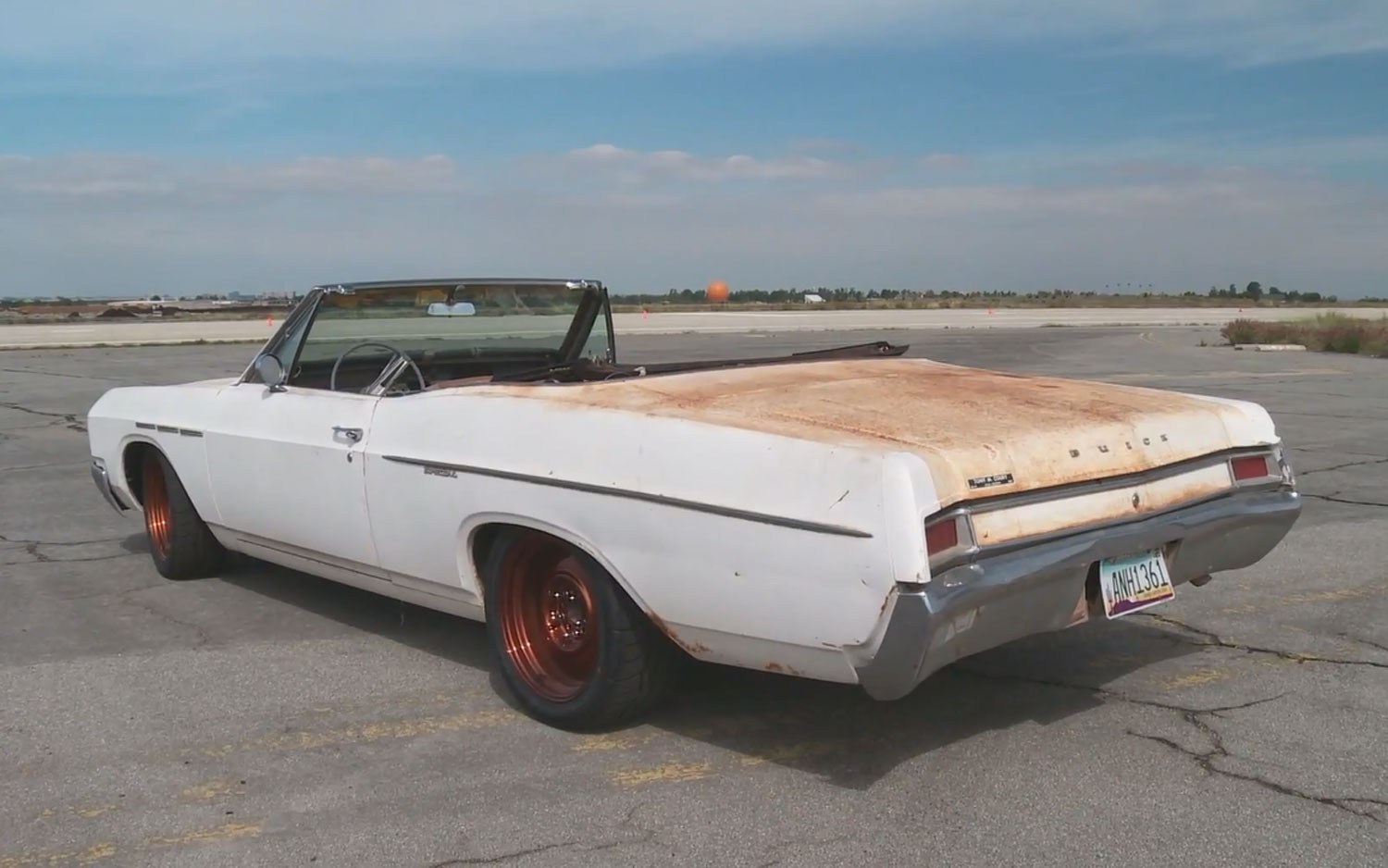 1966 Buick Convertible Left Rear Angle1