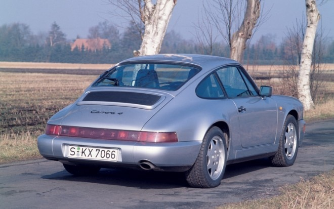1991 Porsche 911 Carrera Rear Three Quarter1 660x413