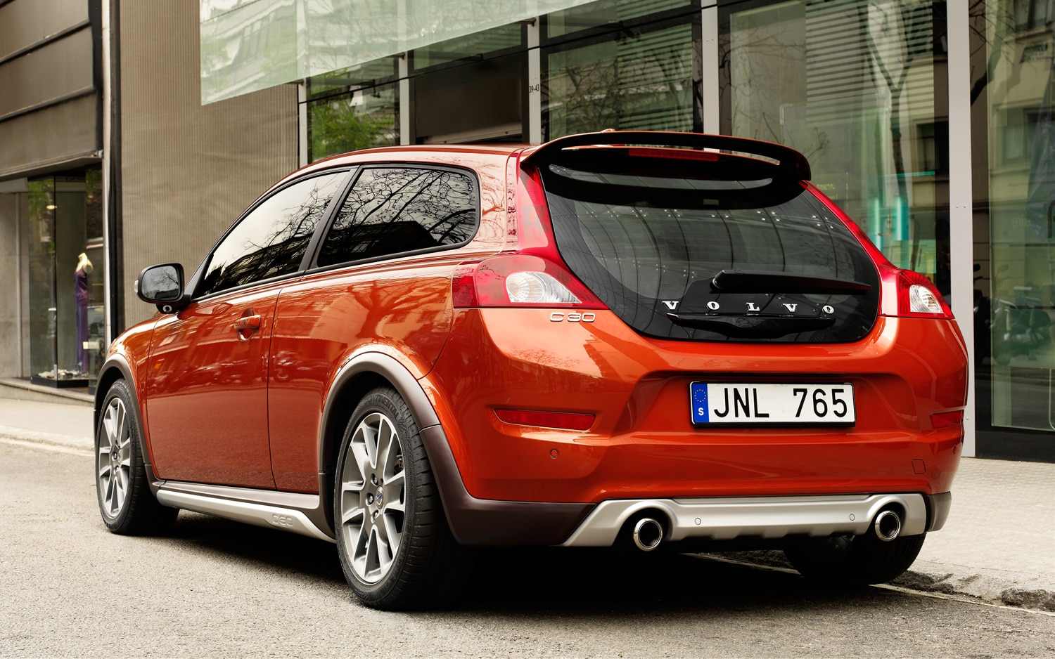2011 Volvo C30 Rear Three Quarter 21