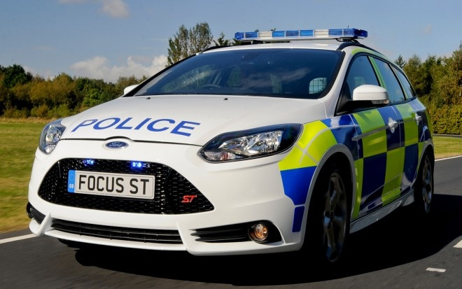 2012 Ford Focus ST Police Wagon Front View1 660x413