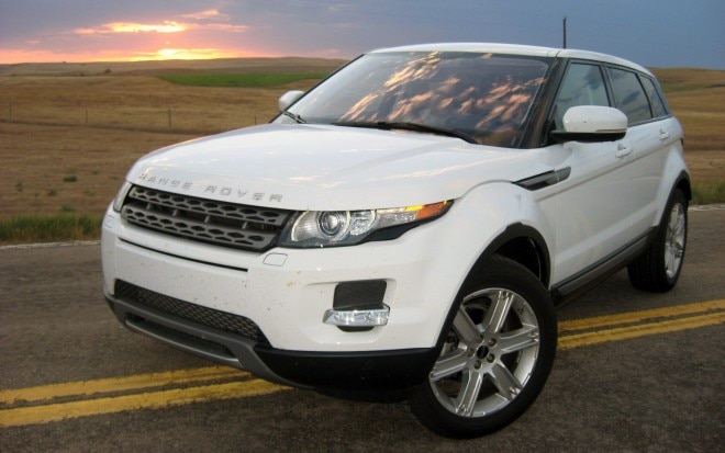 2012 Land Rover Range Rover Evoque Front Left Side View2 660x413