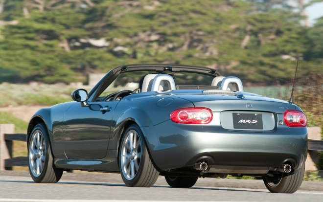 2012 Mazda MX 5 Rear Three Quarter Top Down1 660x413