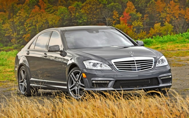 2012 Mercedes Benz S63 AMG Right Front 11 660x413