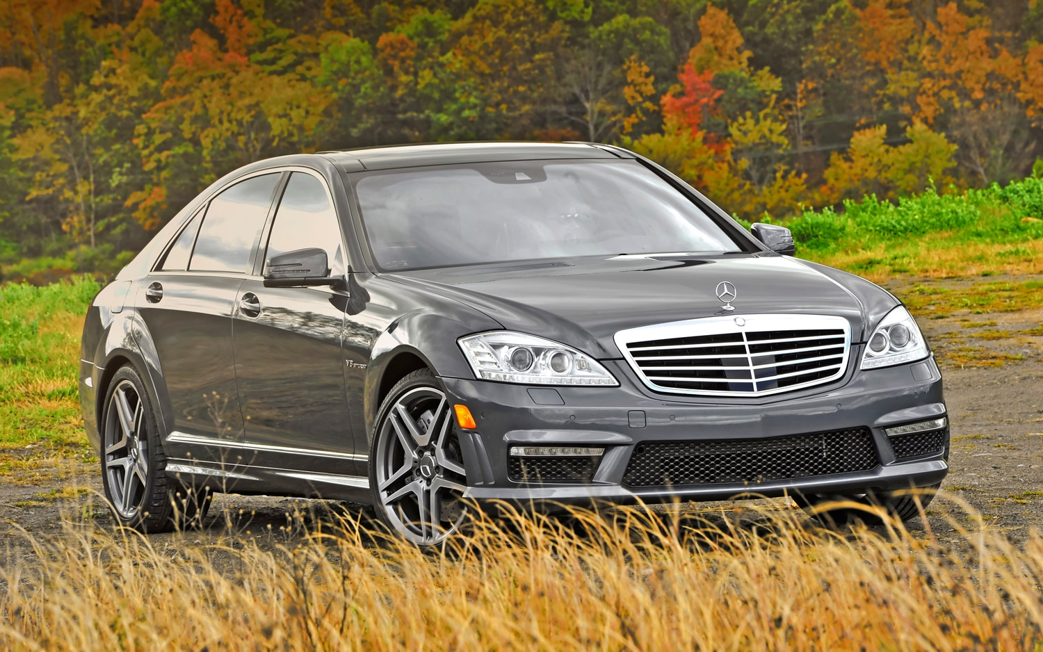 2012 Mercedes Benz S63 AMG Right Front 11