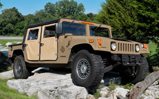 2013 AM General Humvee C Series Front View Test1 660x413