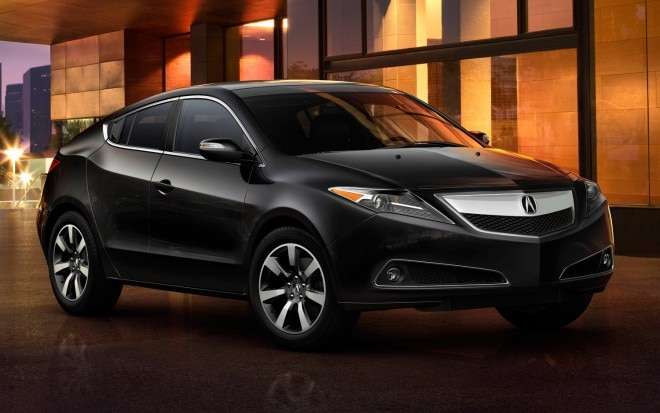 2013 Acura ZDX Front View In Black1 660x413