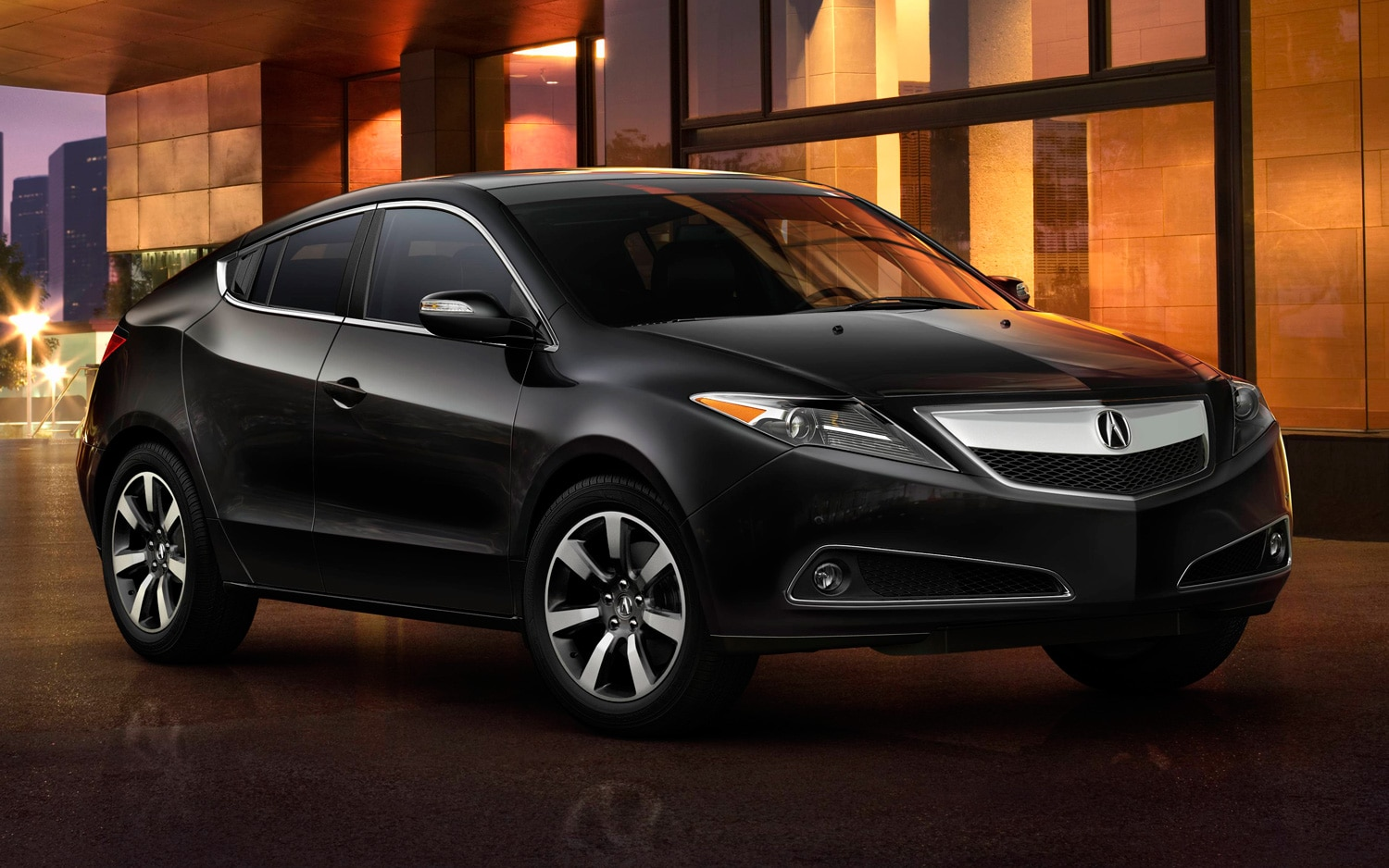 2013 Acura ZDX Front View In Black1