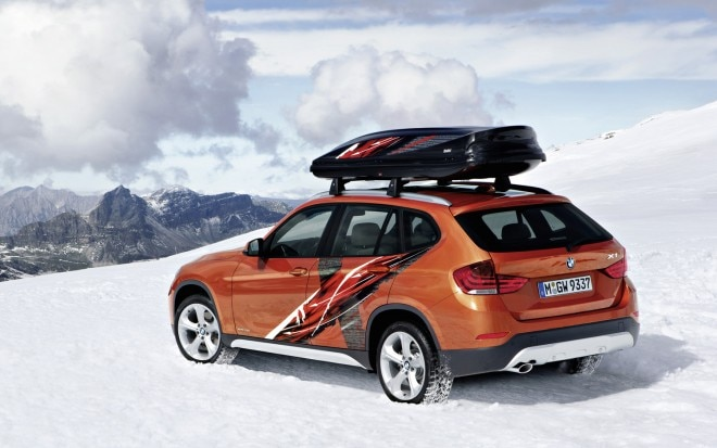 2013 BMW X1 Powder Ride Edition Rear Three Quarter Orange1 660x413