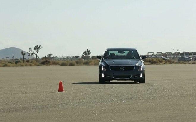 2013 Cadillac ATS Front View1 660x413