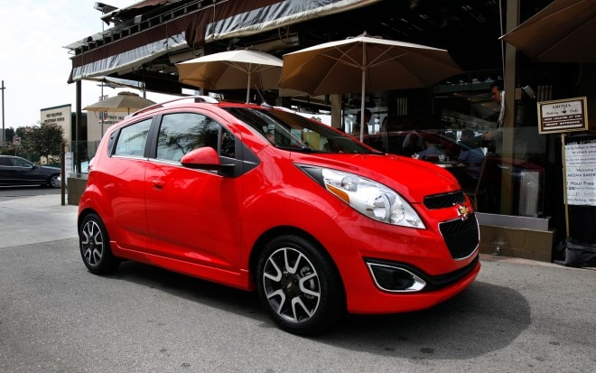 2013 Chevrolet Spark Right Front 11 660x413