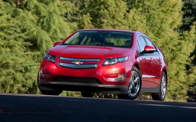2013 Chevrolet Volt Red Left Front 11 660x413