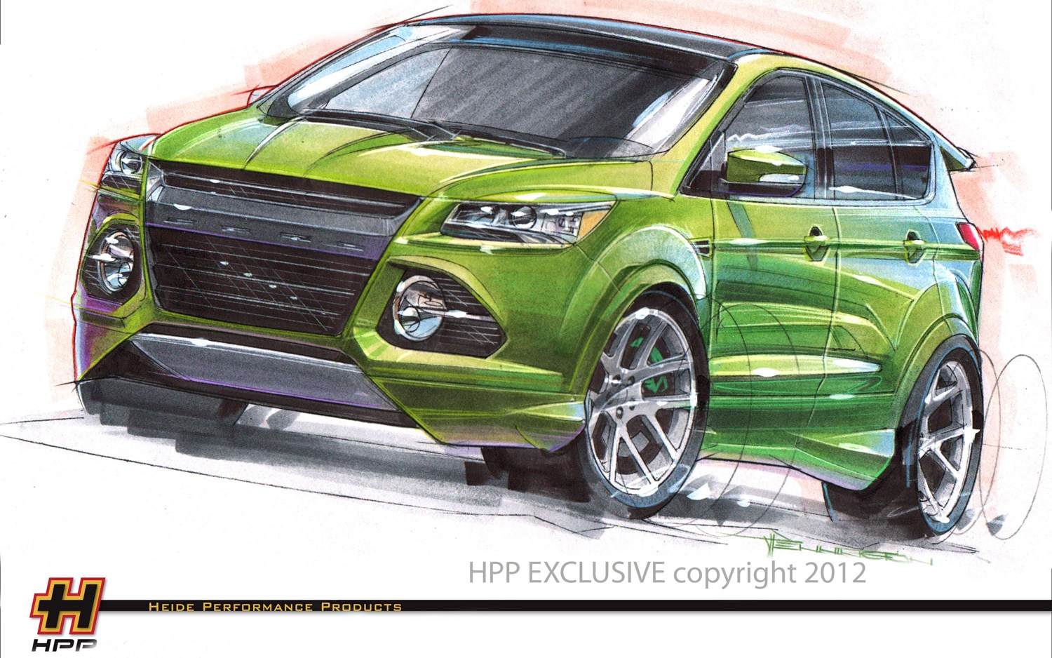 2013 Ford Escape SEMA Show Car By HPP1