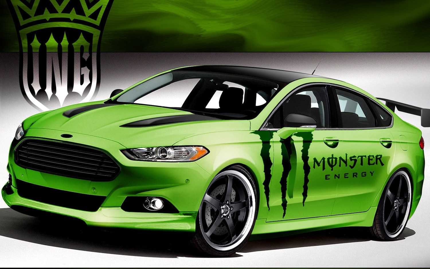 2013 Ford Fusion By Ice Nine Group For SEMA1