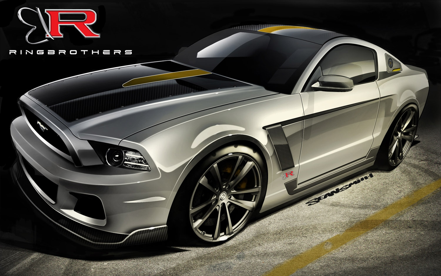 2013 Ford Mustang GT Ringbrothers SEMA1
