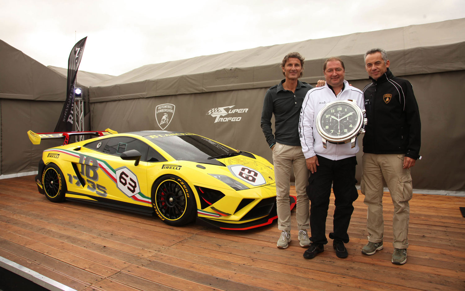 2013 Lamborghini Gallardo LP 570 4 Super Trofeo Car With Execs1