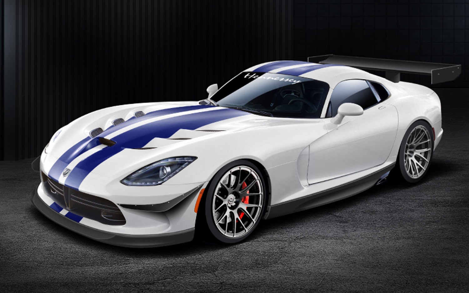 2013 SRT Viper Venom 1000 TT Front Three Quarter1