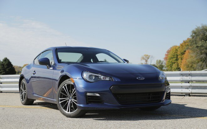 2013 Subaru BRZ Front Right View1 660x413