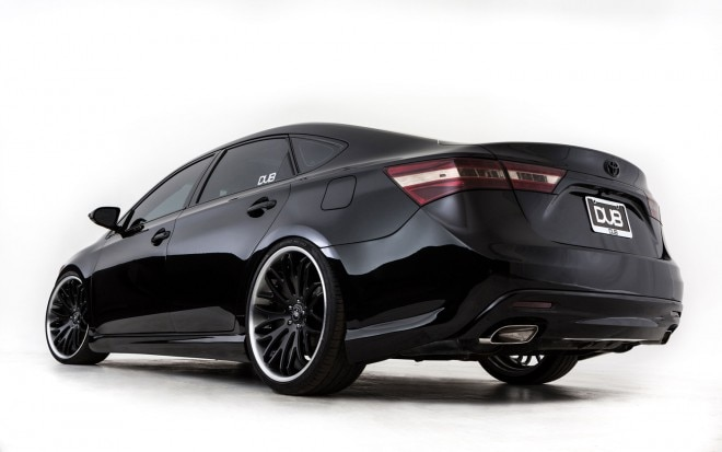 2013 Toyota Avalon SEMA DUB Magazine Rear Three Quarter1 660x413