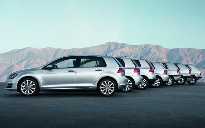 2013 Volkswagen Golf Model Chronology1 660x413