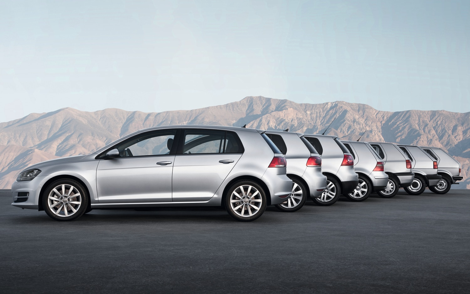 2013 Volkswagen Golf Model Chronology1