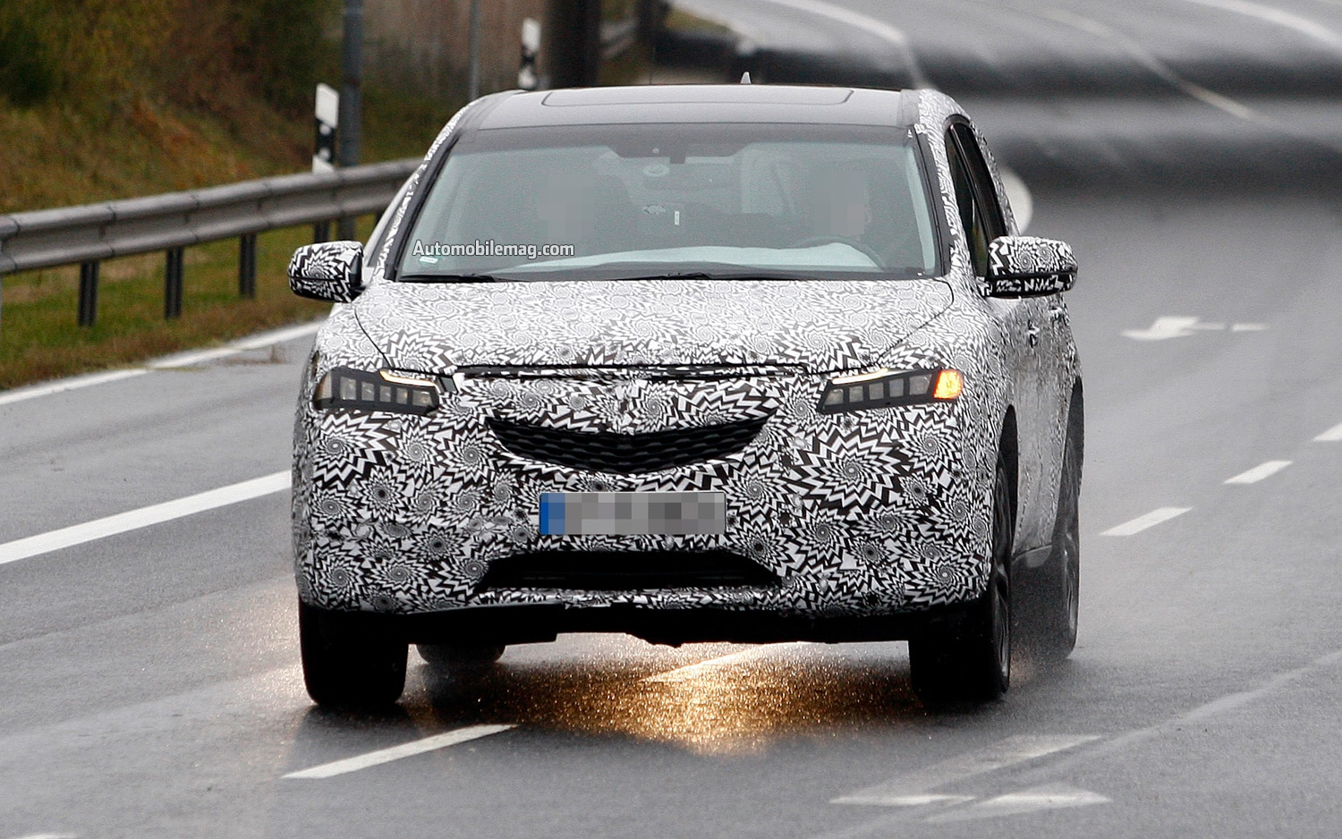 2014 Acura MDX Prototype Front Motion View1