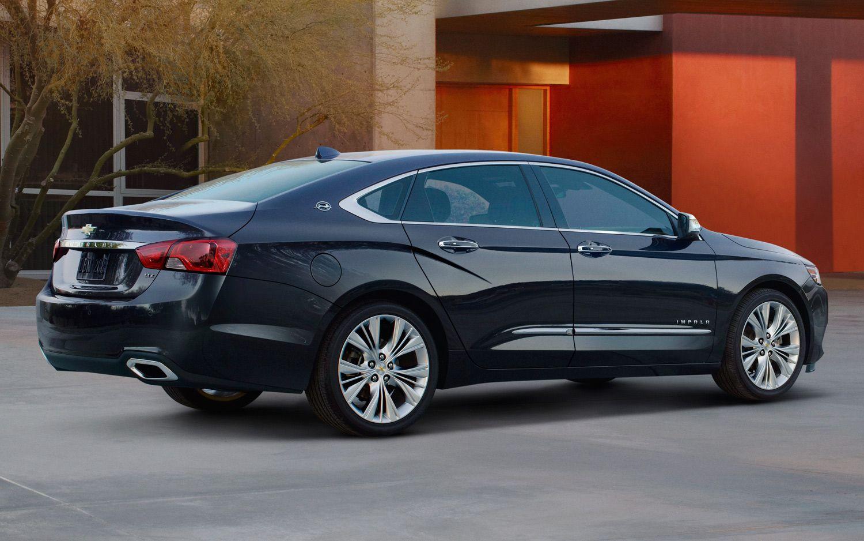 2014 Chevrolet Impala Right Rear Angle1