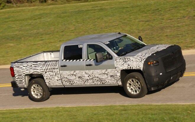 2014 Chevrolet Silverado Prototype Teaser1 660x413