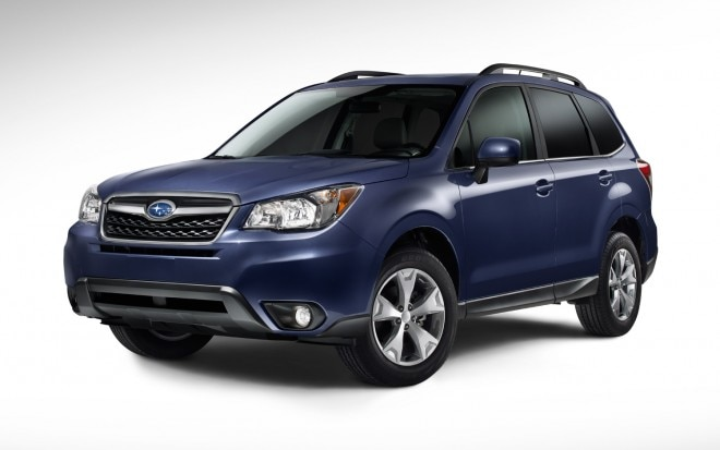 2014 Subaru Forester Front Three Quarter Blue1 660x413