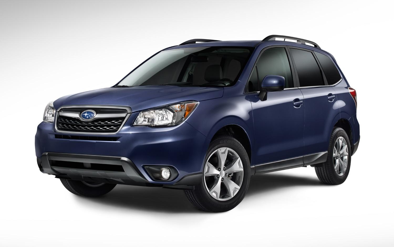 2014 Subaru Forester Front Three Quarter Blue1