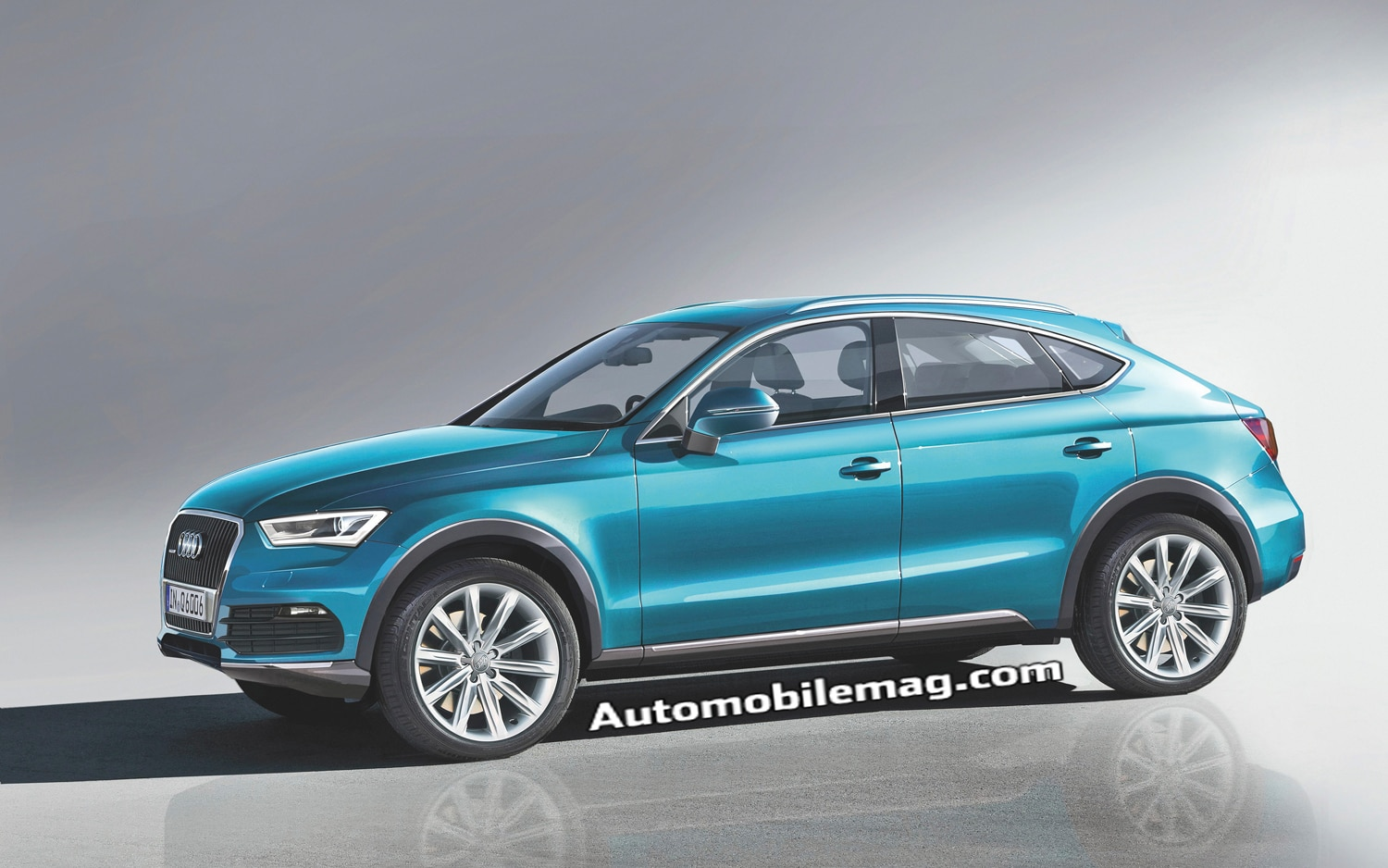 Audi Q6 Front Three Quarter1