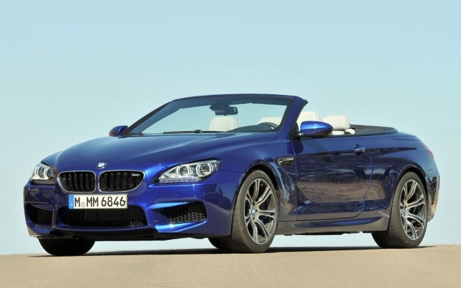 BMW M6 Convertible Front Side View1 660x413