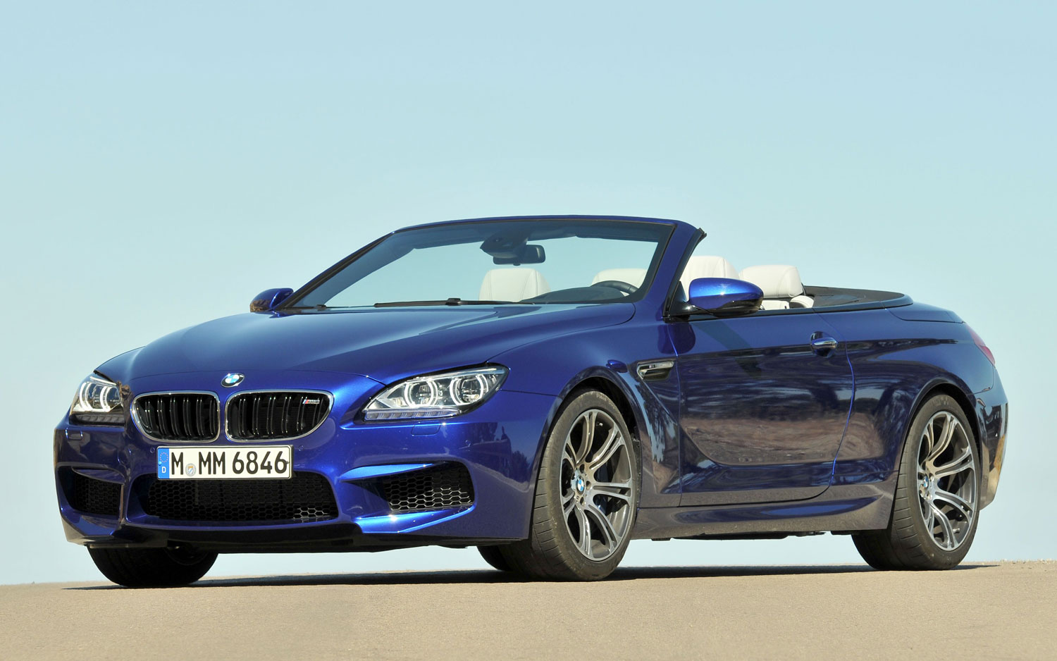 BMW M6 Convertible Front Side View1