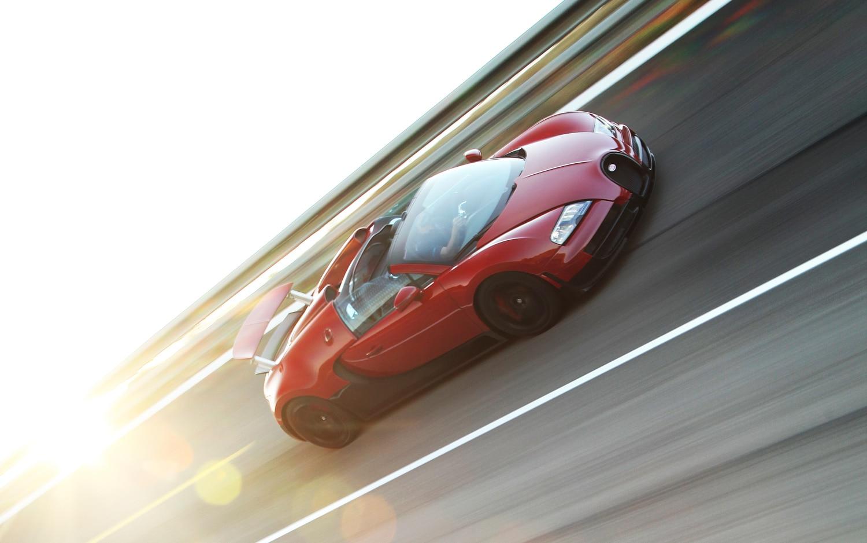 Bugatti Right Side View Promo