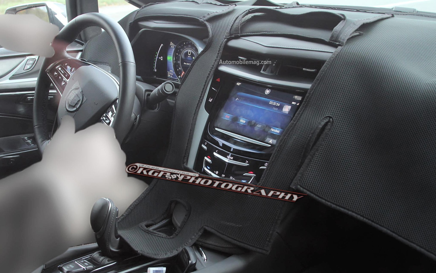 Cadillac ELR Spy Photo Interior 11