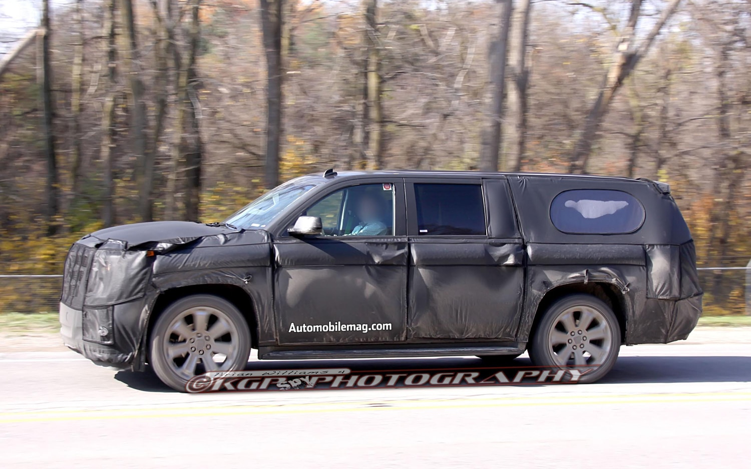 Caught 2014 Cadillac Escalade Continues Testing